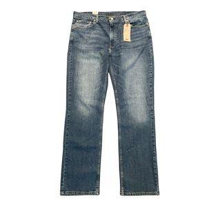 Levi's straight jeans medium dark wash size 40/34 inv#18